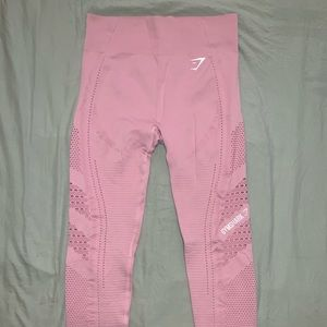 Pink Gymshark Seamless Leggings